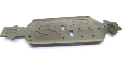 E2423; 3mm hard-anodized aluminum MUGEN E2021 MBX8 CHASSIS PLATE