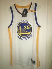 Warriors Authentic Kevin Durant Home White Jersey size M with tags!