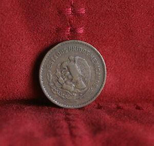 5 Centavos 1953 Mexico Bronze World Coin Eagle KM424 five cents