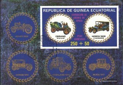 Haben Sie Einen Fragenden Verstand Äquatorial-guinea Block229 Gestempelt 1976 Autoveteranen kompl.ausg.