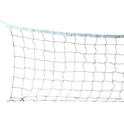 Volleyball Net With Steel Cable Rope Official Size Outdoor /& Indoor 32X3FT ESA