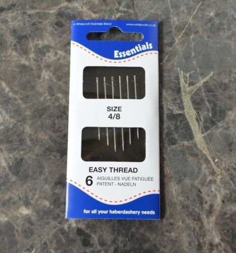 Packs of Hand Sewing Needles for Beading Easy Thread