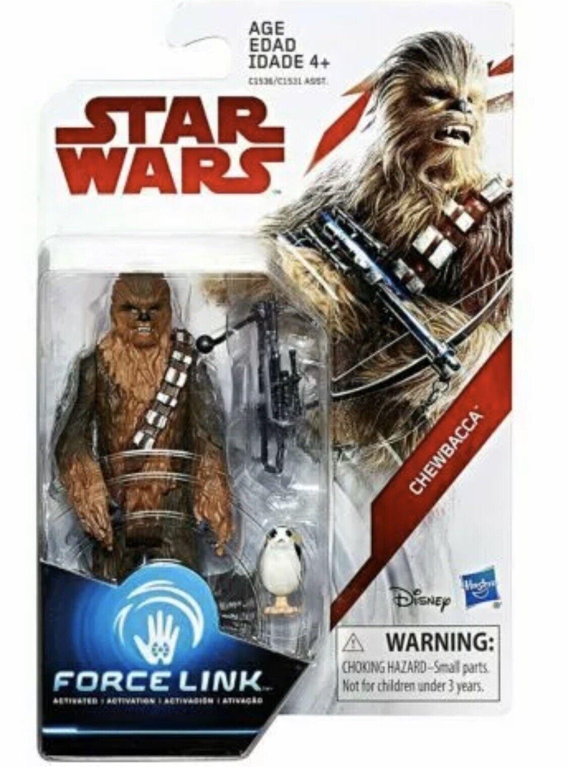 "Star Wars Chewbacca with Porg /""The Last Jedi/"" Collection 2018 de Hasbro"