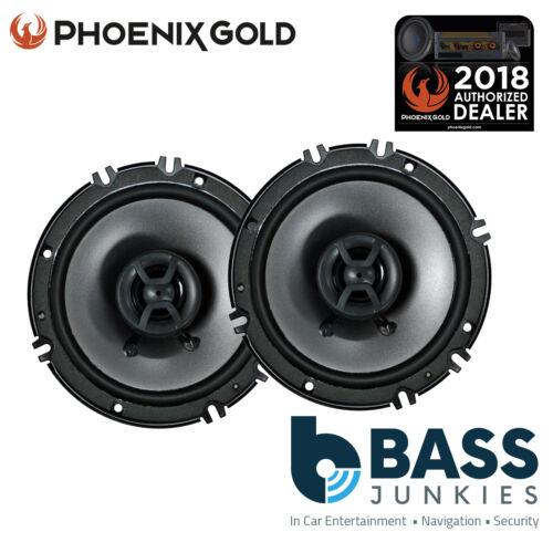 "Phoenix Gold Z65CX 6.5/"" inch 16cm 160 Watts Door Shelf Coaxial Car Speakers"