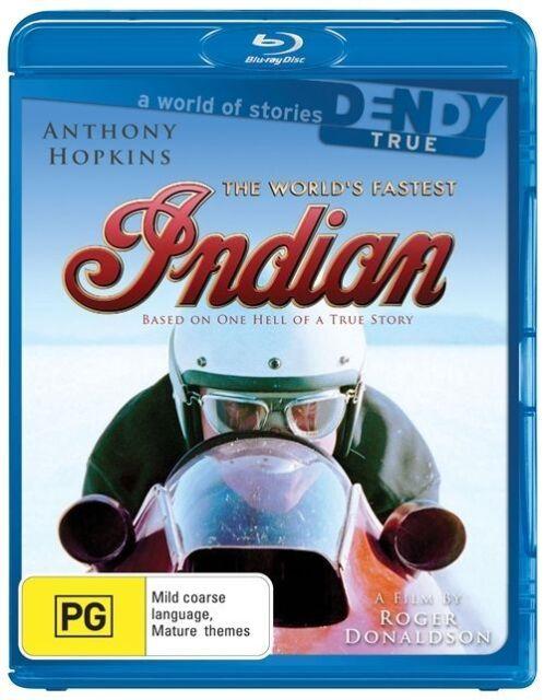 The World's Fastest Indian (Blu-ray, 2009) Anthony Hopkins New & Sealed Region:B