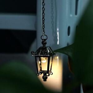 1-12-Puppenhaus-Miniatur-LED-Bright-Black-Europaeischen-Kronleuchter-Kid-Baby-Toy
