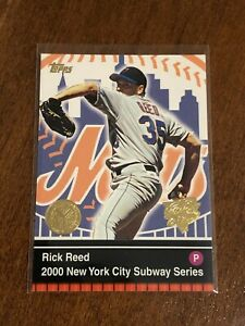 2000-World-Series-Topps-Baseball-Base-Card-18-Rick-Reed-New-York-Mets