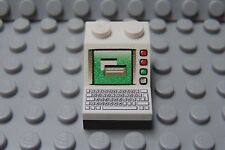 LEGO Decorated Slope 2x2  Minifig Desptop Computer Monitor