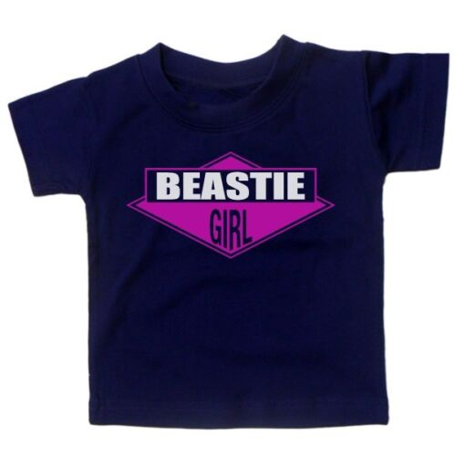 BEASTIE GIRL  BEASTIE BOYS INSPIRED BABY T SHIRT MUSIC HIP HOP LABEL RETRO SIZES