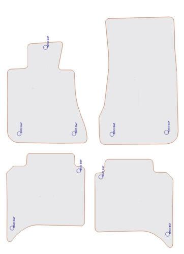 Fußmatten für BMW 5er E28 in Velours dunkelblau oder pacificblau