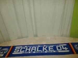 FC-Schalke-04-Fan-Schal-034-DIE-SUPERFANS-VOM-PARKSTADION-LET-S-GO-SCHALKE-034