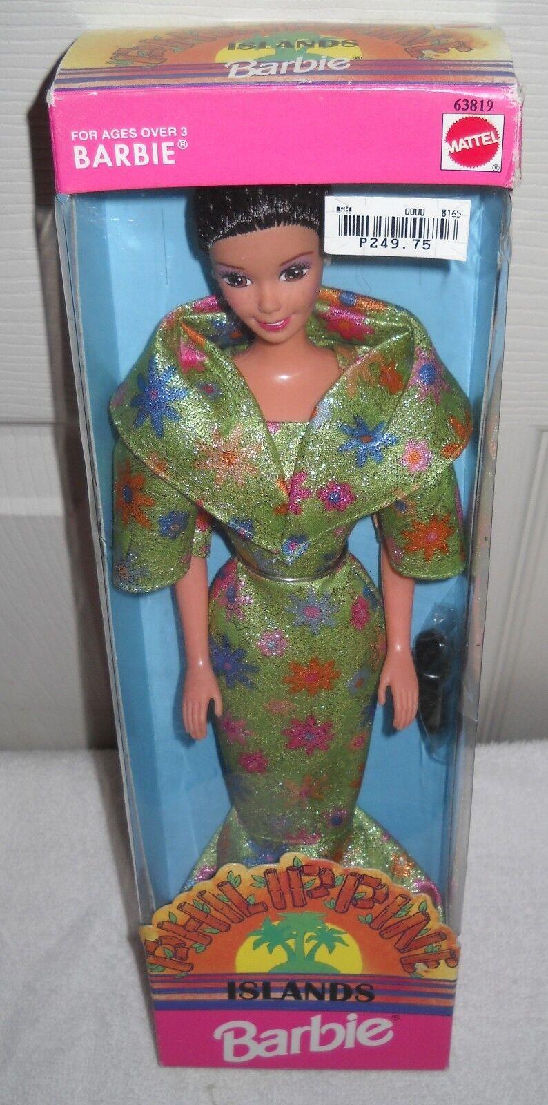 Nunca quitado de la Caja Mattel Filipinas-Islas filipina Barbie Serie 3 tema extranjeros