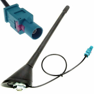Antenne-Antennenfuss-FAKRA-Sockel-Stabantenne-Dach-Dichtung-Triplex-Adapter-16V