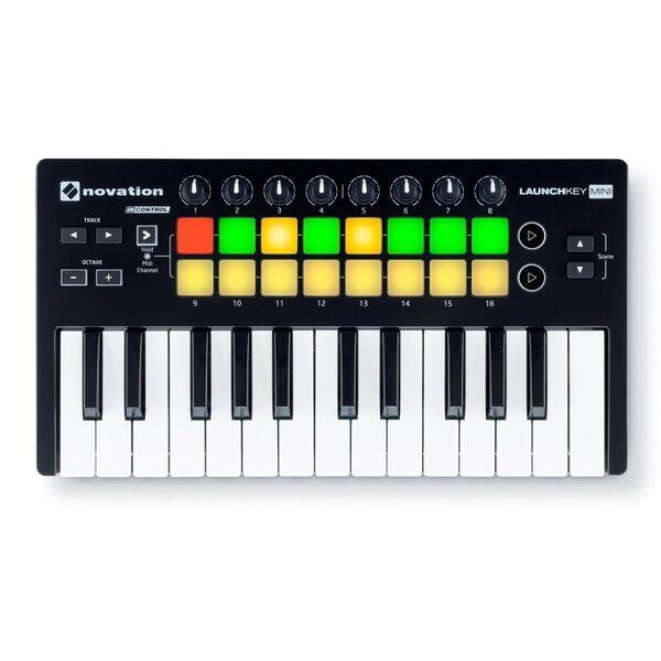 Novation Launchkey Mini MK2 USB MIDI Keyboard Controller w/ Ableton Live Lite