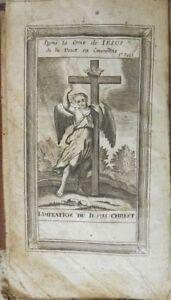 """******* L'IMITATION DE JESUS-CHRIST - R. P. GONNELIEU - AVIGNON - 1809 ******* - France - Commentaires du vendeur : """"Etat d'usage correct : voir descriptif et photos ..."""" - France"""