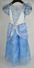 Cinderella Ball Gown Dress Movie Disney Store Halloween Costume M 7 - 8 Girls
