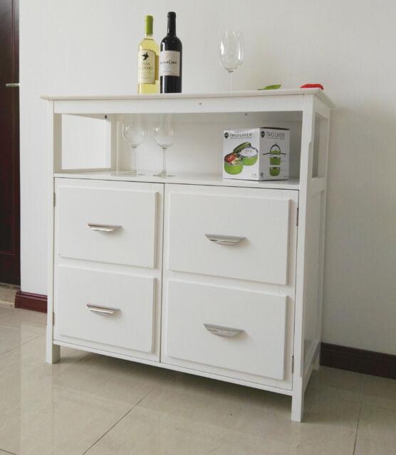 Wooden Dressers Cabinet Storage Buffet Sideboard Table Cupboard 060
