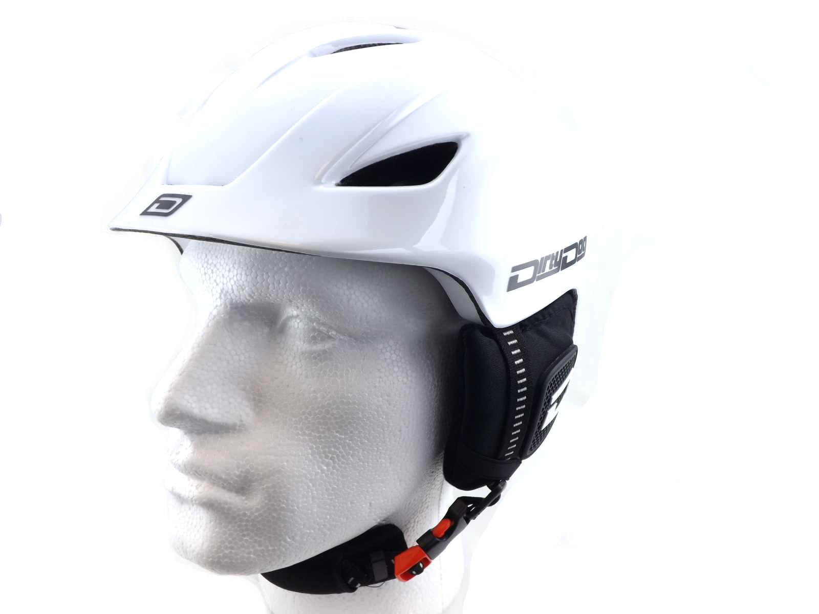 DIRTY  DOG adjustable ECLIPSE Ski Snowboard Helmet WHITE small-medium-large  quality product