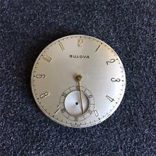 VINTAGE 10 SIZE GRADE 17AH BULOVA OPENFACE POCKET WATCH MOVEMENT