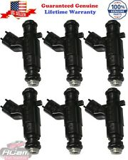 Set of 6 Bosch 0280156131 fuel injector 04-06 Cadillac CTS 3.6L V6 LY7 12571159