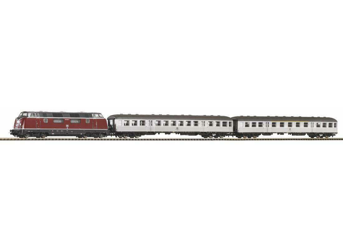 Piko H0 59020 - SmartControl light Set, Bettungsgleis DB Personenzug   Neuware