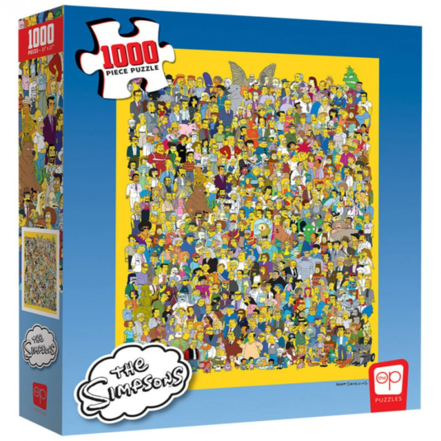 The Simpsons Casting Call 1000 Piece Puzzle