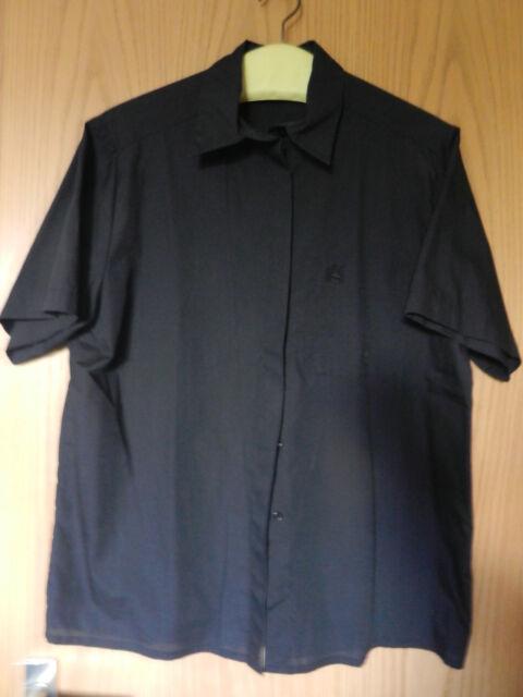 Damenbluse, Gr. 40, schwarz, 65% Polyester / 35 % Baumwolle