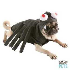 Image is loading Martha-Stewart-Sparkly-Black-Spider-Dog-Costume-Medium-  sc 1 st  eBay & Martha Stewart Sparkly Black Spider Dog Costume Medium Halloween ...