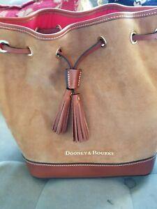 Dooney Bourke Suede Drawstring Bucket