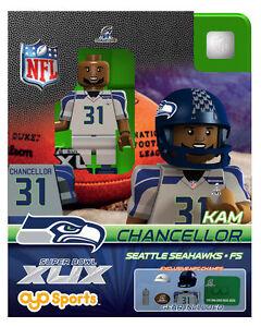 Kam Chancellor OYO NFL 2015 NFC CHAMPS SUPER BOWL XLIX 49 SEATTLE ... 0c75e20e9