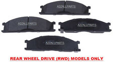 FOR NISSAN NAVARA D22 2WD 2.5TD 02 03 04 05 06 07 08 FRONT BRAKE PADS SET RWD