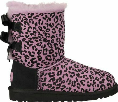 ugg australia bailey bow rosette boots toddler (sz 6 - 9) lavender ...