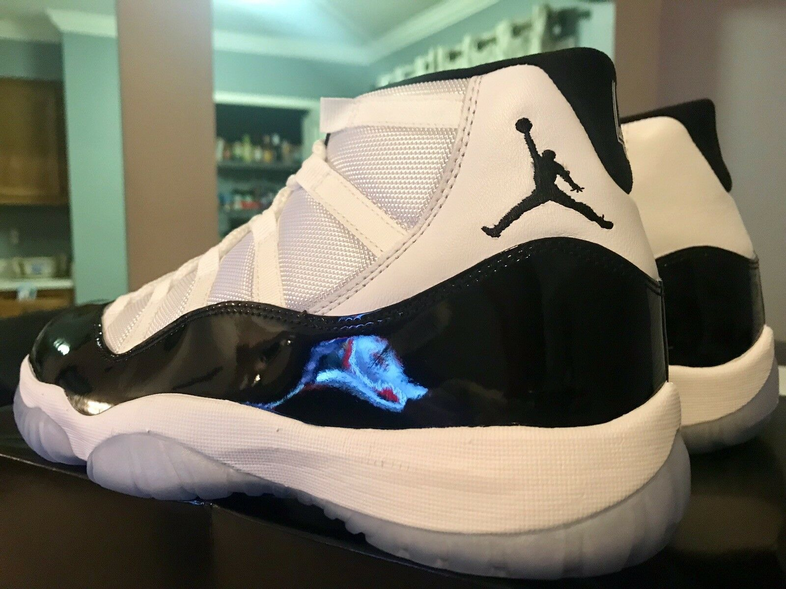 Air Jordan Retro 11 XI Concord Size 10.5 SNKRS Shock Drop and in hand