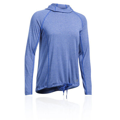 FäHig Under Armour Womens Threadborne Train Twist Training Gym Fitness Hoodie Blue