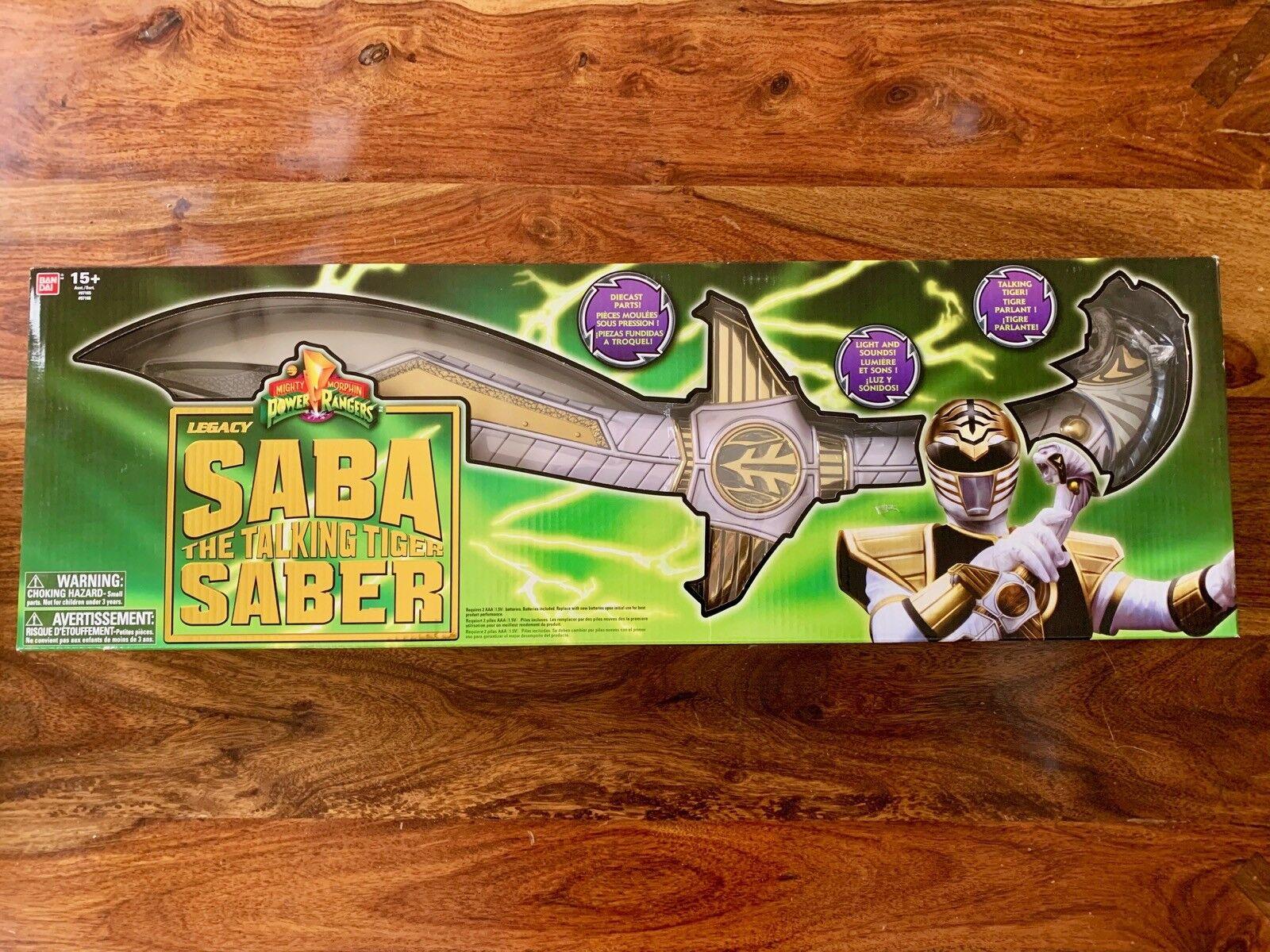 BRAND nuovo Power Rangers Legacy Saba Sword collectible collectible collectible replica 47b7fa