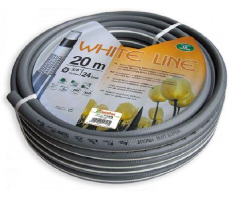 """Wasserschlauch 1//2 /"""" 50m Tricot WHITE LINE WL-1//250 5-Lagen Profi"""