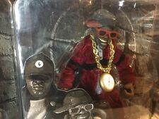 PUBLIC ENEMY FLAVA FLAV figure * TV Rap hip hop rare limited toy MEZCO eccentric