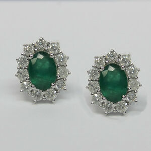 2-40CT-Emerald-and-Diamond-Earrings-F-SI-in-18K-White-Gold