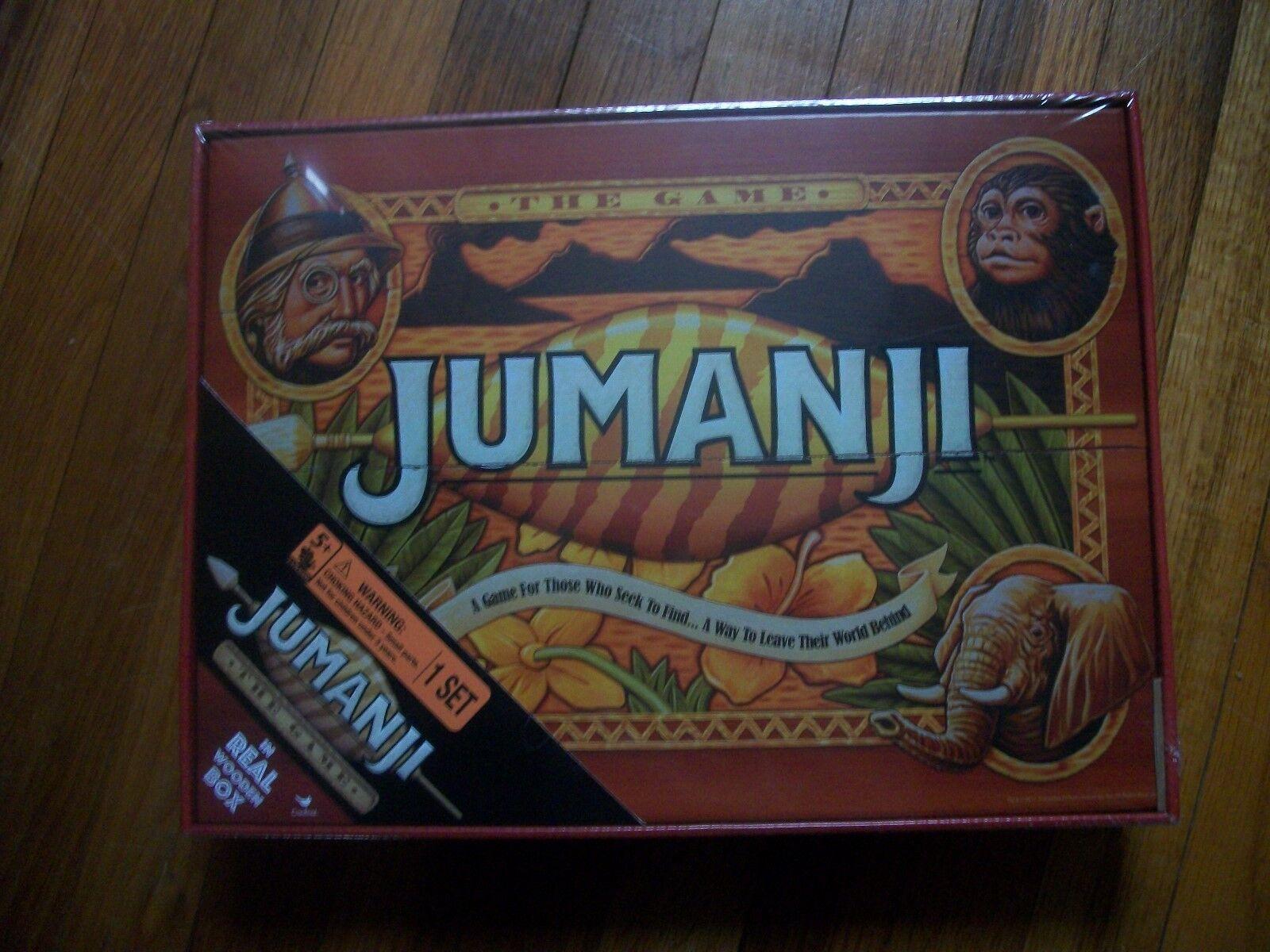 Jumanji boaard spiel - versiegelten mint zustand.von kardinal spiele