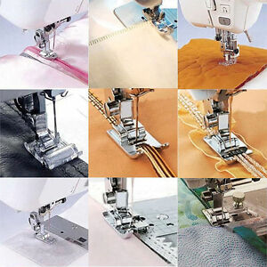 11 Pcs Multi Function Universal Sewing Machine Presser Foot Feet  Accs Parts Set