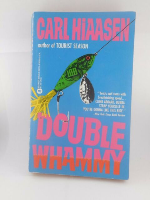 Double Whammy by Carl Hiaasen Mass Market Paperback Book (English)