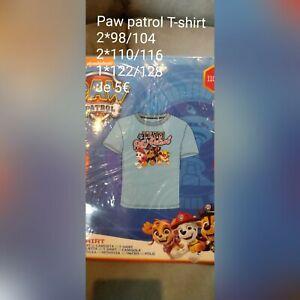 NEU NEU 98//104-110//116-122//128 Super Heroes Paw Patrol Shirt versch Gr