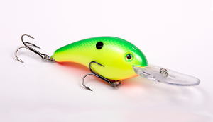Chartreuse//Green Back Strike King Series 5XD Crankbait