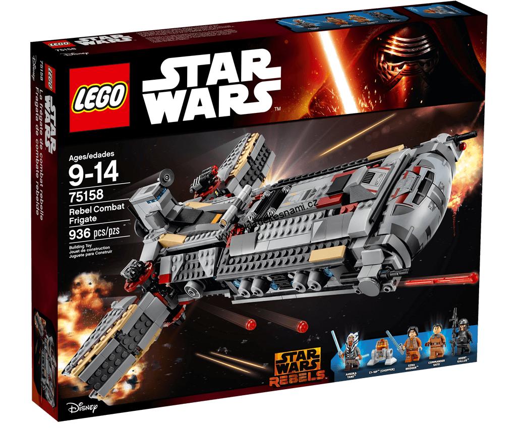 Lego Star Wars Rebel Combat Frigate (75158) New Sealed Free Shipping