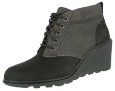 Timberland Earthkeepers Amston Wedge Ankle BOOTS 381 Black