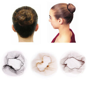 Edge Ballet Snood Bun Cover Invisible Hair Nets Hair Styling Tool ... ae81a3db3cba