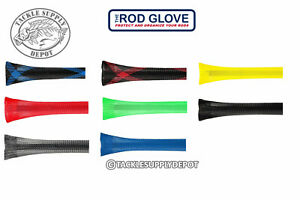 The Rod Glove Spinning Fishing Rod Cover Shorty fits 5ft to 6ft Pick