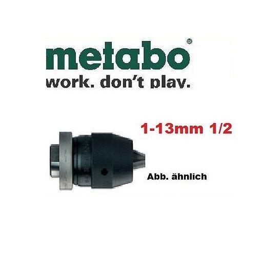 Metabo Schnellspannbohrfutter Futuro Top für Rechtslauf 13mm 1 2  20 UNF 6.36226