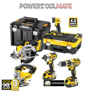 Dewalt-DCK550M3T-Brushless-18V-XR-5-Piece-Kit-c-w-3x-4-0ah-Li-on-Batteries
