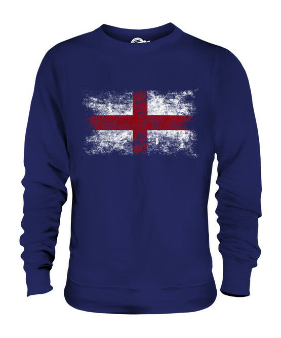 ENGLAND WEINLESE FLAGGE UNISEX SWEATER PULLOVER PULLI SWEATSHIRT HERREN DAMEN